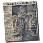 Rattlesnake Tequila in LA Times