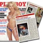 Rattlesnake Tequila in Playboy Magazine