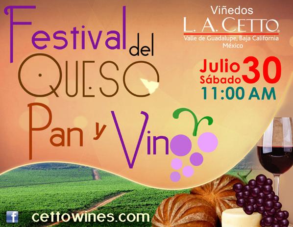 festival del queso pan y vino