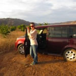 Red Sonya in the valle de guadalupe