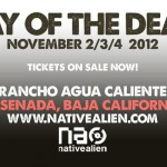 day of the dead banner ad