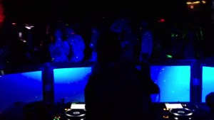 Video of Missy B DJing at Contact 2013