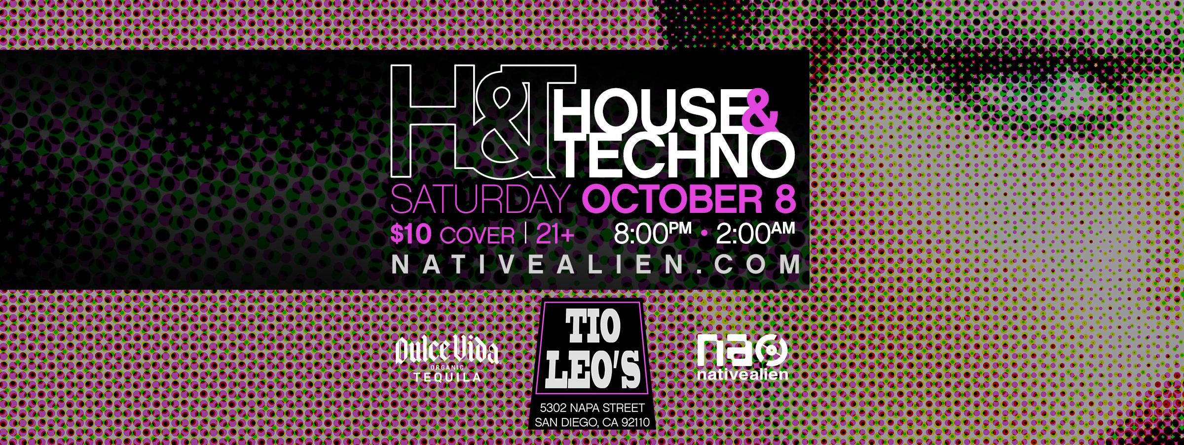 House & Techno - October 8