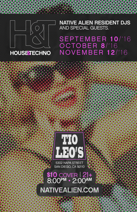 house & techno september 10 tio leos
