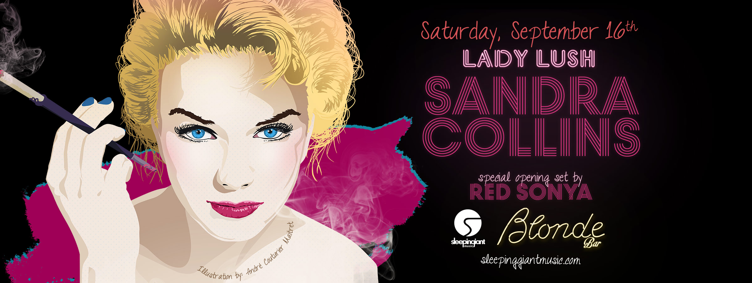 Lady Lush feat. Sandra Collins