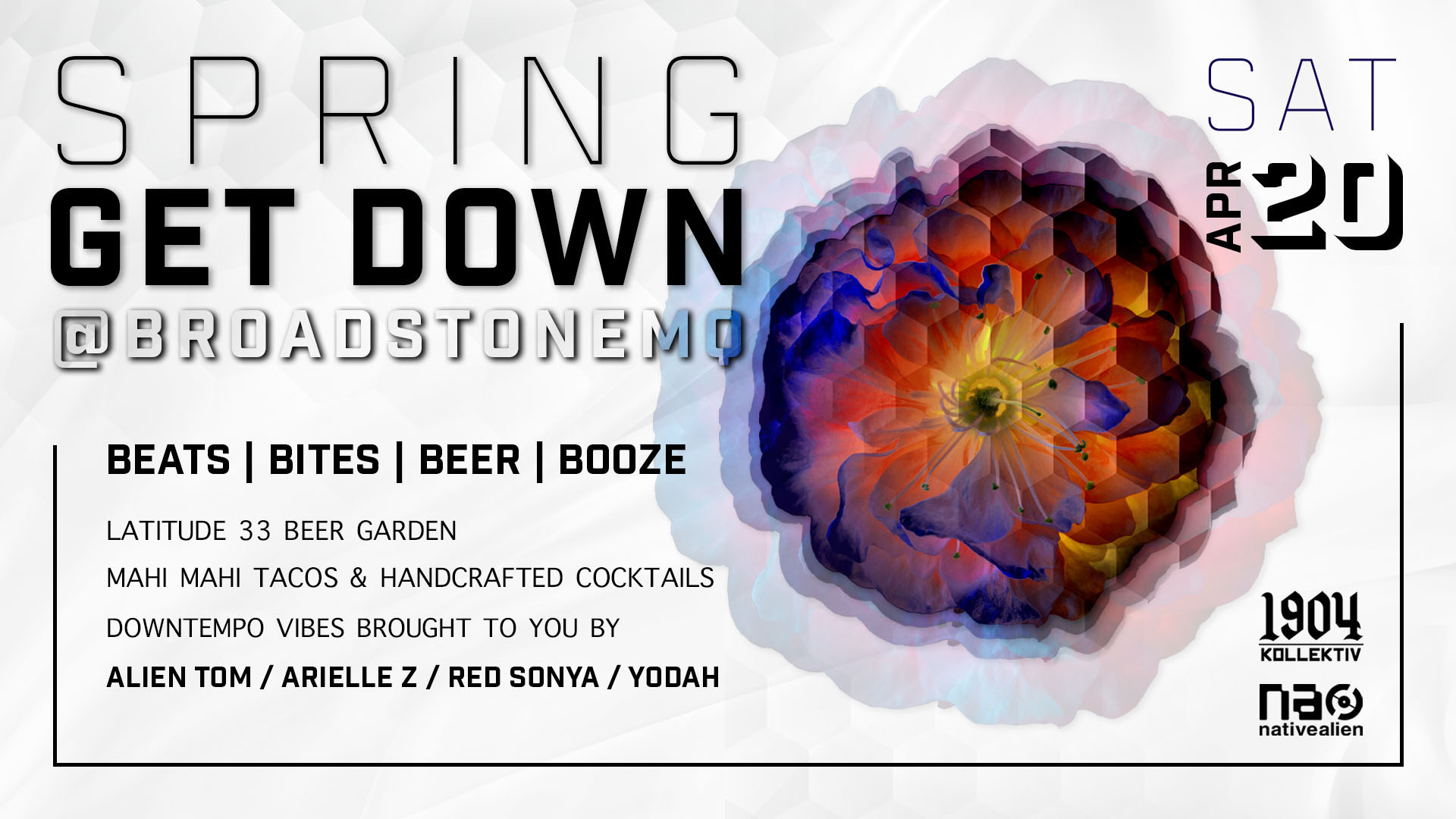Spring Get Down @ Broadstone Makers Quarter